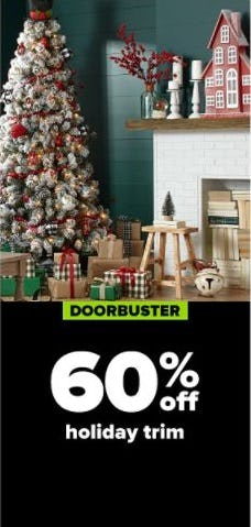 60% Off Holiday Trim from Belk