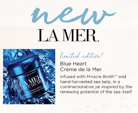 La Mer Blue Heart Crème De La Mer from Blue Mercury