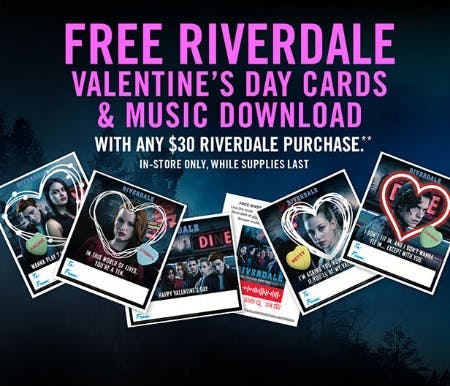 Riverdale Gift with Purchase