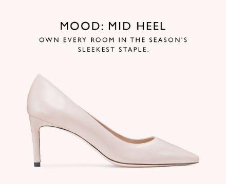 Mood: Mid Heel from STUART WEITZMAN