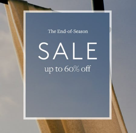 End-of-Season Sale: Up to 60% Off from Club Monaco