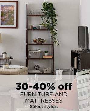 30-40% Off Furniture and Mattresses