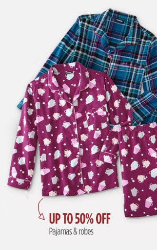 Up to 50% Off Pajamas & Robes from Sears