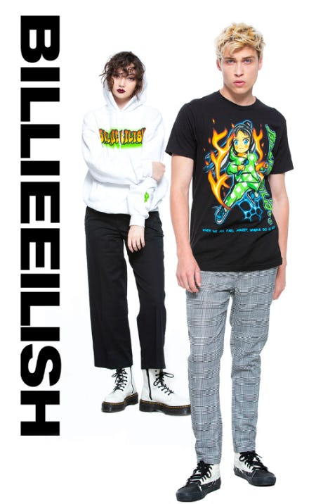New Billie Eilish from Hot Topic