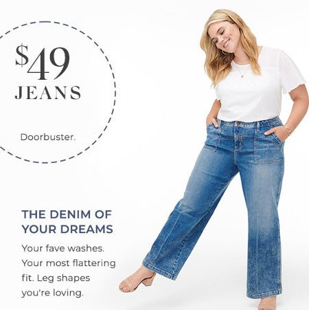 $49 Jeans from Lane Bryant