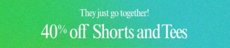 40% Off Shorts and Tees from Lucky Brand Jeans