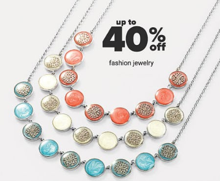 Up to 40% Off Fashion Jewelry from Belk