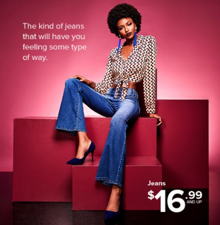 Jeans $16.99 and Up from Rainbow