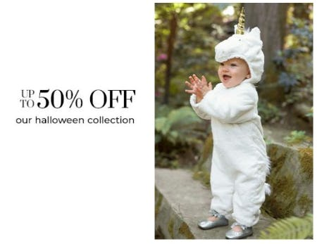 Up to 50% Off Our Halloween Collection from Pottery Barn Kids