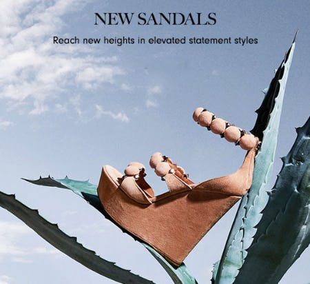 New Sandals from Neiman Marcus