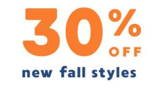 30% Off New Fall Styles from Gymboree