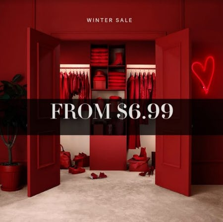 Winter SALE Furthers from H&M