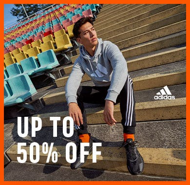 Up to 50% off adidas favorites from Adidas