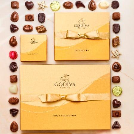 New GODIVA Gold from Godiva Chocolatier
