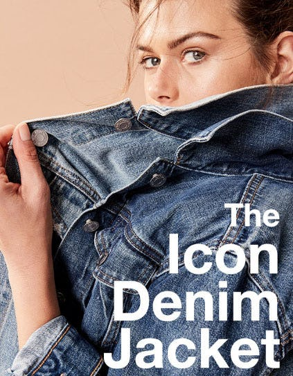 The Icon Denim Jacket from Gap