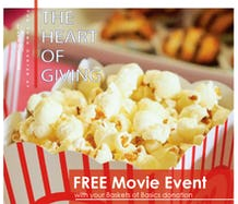 Free Movie With Donation