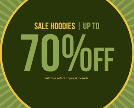 Sale Hoodies up to 70% Off