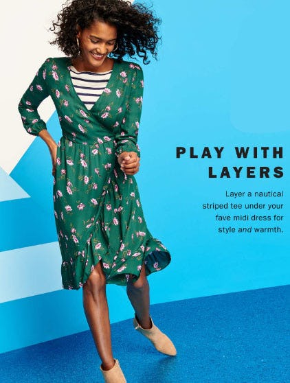 Play with Layers from Old Navy