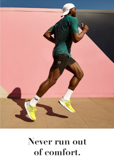 Never Run Out of Comfort from New Balance