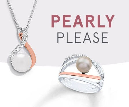 Classy Pearl Jewelry from Kay Jewelers