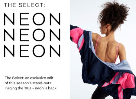 The Select: Neon from Aritzia