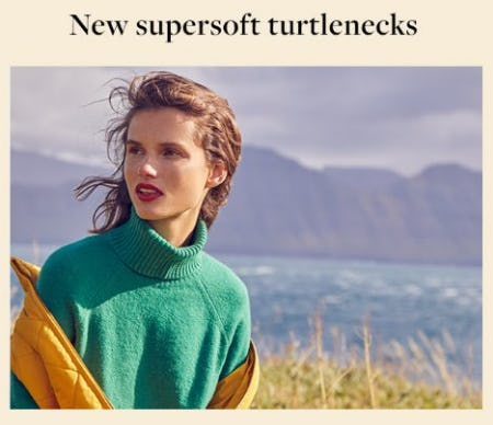 Shop New Supersoft Turtlenecks from J.Crew-on-the-island