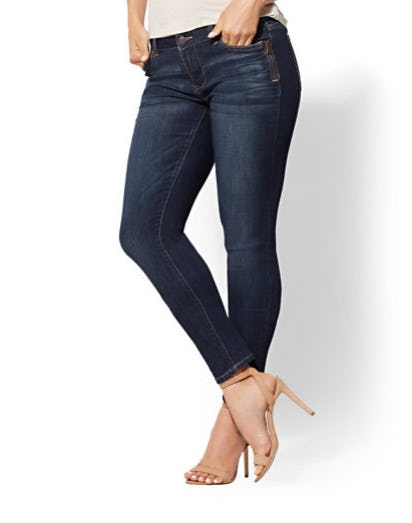 Soho Jeans - Zip-Accent Boyfriend from New York & Company