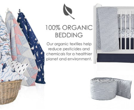 Shop Our Organic Bedding from Pottery Barn Kids