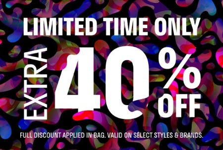 Extra 40% Off Select Styles & Brands from Zumiez