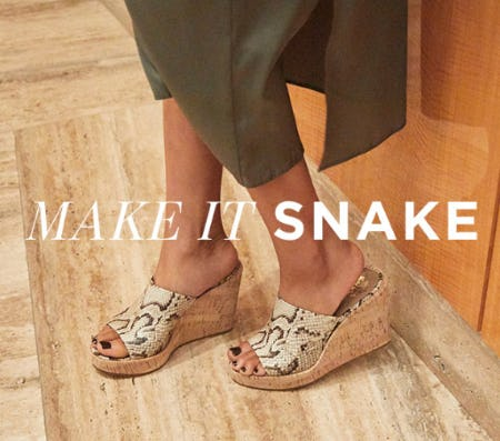 Spring's Must Have Snake Effect Shoes from Vince Camuto