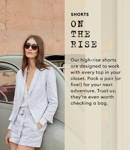 Shorts on the Rise from Banana Republic