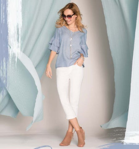 A Bright & Fresh Start with Chambray from Versona Accessories
