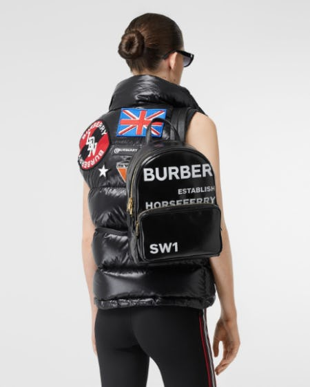 The Backpack Edit from Burberry