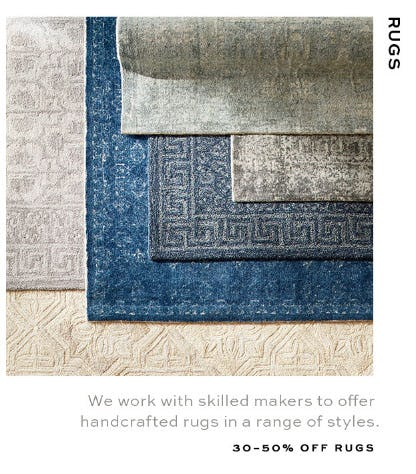 30-50% Off Rugs from Pottery Barn