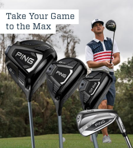 PING G425 Woods and Iron Sets from Golf Galaxy