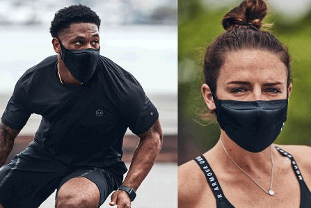 Masks Made for Athletes