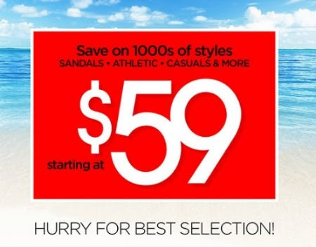 1000s of Styles Starting at $59 from THE WALKING COMPANY