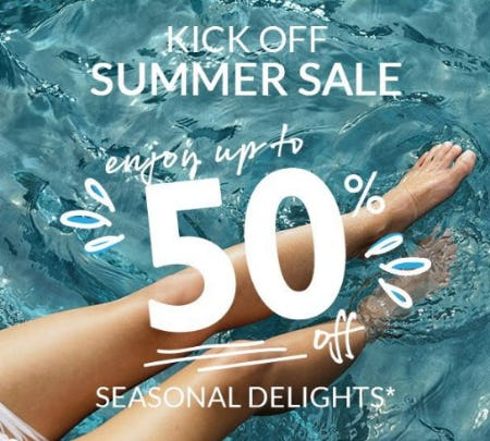 Summer Sale up to 50% Off from L'Occitane