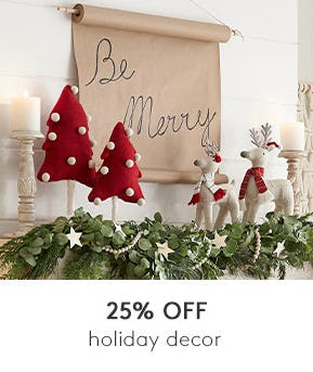 25% Off on Holiday Decor from Pottery Barn Kids