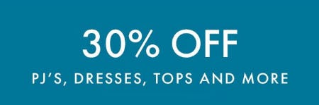 30% Off PJ's, Dresses, Tops & More from Hanna Andersson