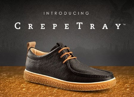 ECCO CREPETRAY: Cushions with Every Step from ECCO