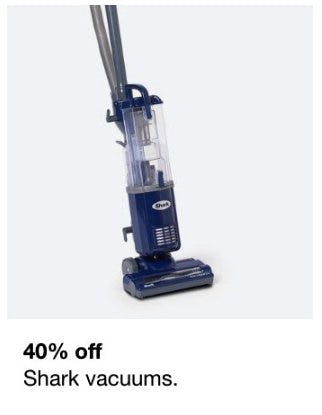 40% Off Shark Vacuums from macy's