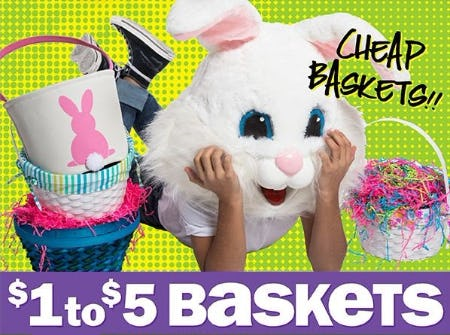 $1 to $5 Baskets