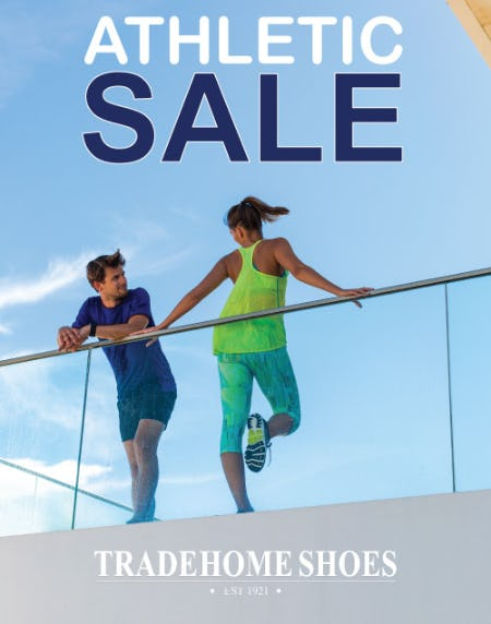 Spring Athletic Sales Event from Tradehome Shoes