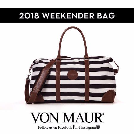 Von Maur 2018 Weekender Bag from Von Maur