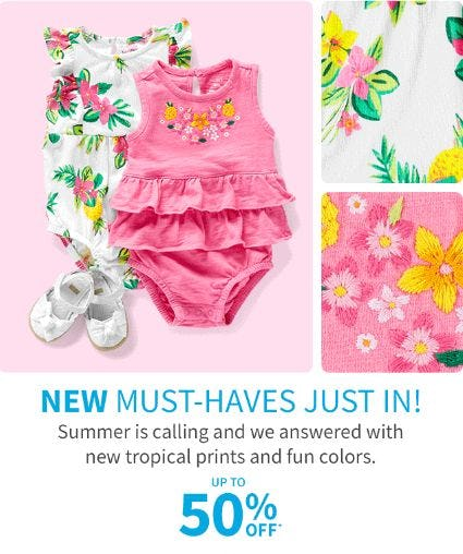 Up to 50% Off New Arrivals from Carter's