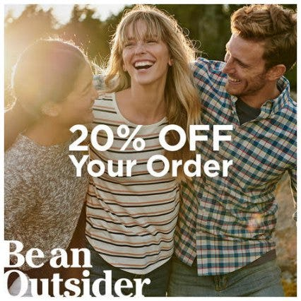 Get 20% Off Your Purchase from L.L. Bean
