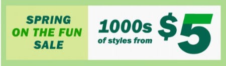 1000s of Styles from $5 from Old Navy