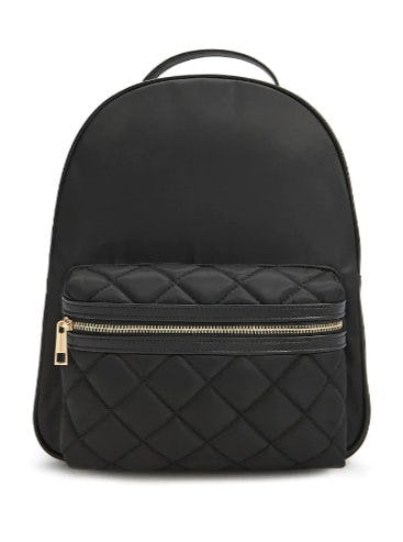 Quilted Nylon Backpack from Forever 21