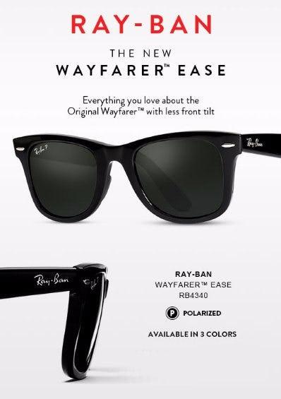 The New Wayfarer Ease
